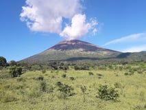 Volcan chaparrastique 免版税库存照片