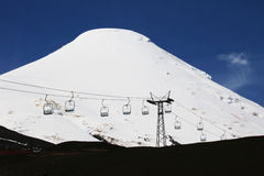 volcan Chile osorno Obrazy Stock