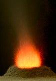 Volcan chimique Image libre de droits
