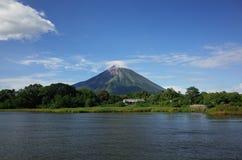 Volcan Concepción Στοκ εικόνα με δικαίωμα ελεύθερης χρήσης