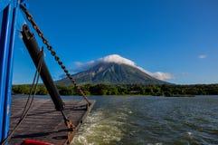 Volcan Concepción, Isla Ometepe, Nicaragua Fotografia Stock Libera da Diritti