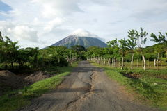Volcan Concepcion Royalty Free Stock Images