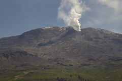 Volcan Copahue, Argentinien Lizenzfreies Stockfoto