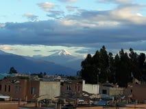 Volcan cotopaxi arkivfoto