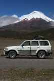 Volcan Cotopaxi (5897 m) Images stock