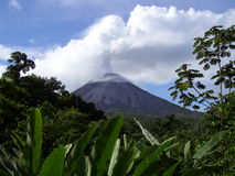 volcan d'arenal photographie stock