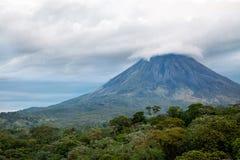 Volcan d'Arenal, Costa Rica Image libre de droits
