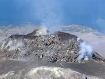 Volcan d'Augustine Photo stock