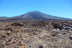 Volcan d'EL Teide. Photos stock