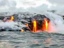 Volcan d'Hawaï photographie stock libre de droits