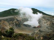 Volcan d'Irazu Photographie stock libre de droits