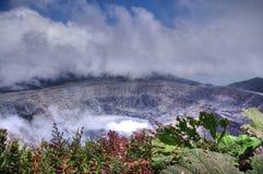 Volcan d'Irazu, Costa Rica Image libre de droits