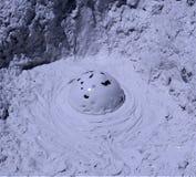 Volcan de boue Photos libres de droits