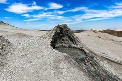 Volcan de boue Image libre de droits