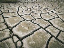 Volcan de boue - texture selenar Photos libres de droits
