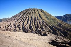 Volcan de Bromo en Indonésie Photo libre de droits