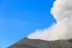 Volcan de Bromo, Java-Orientale, l'Indonésie Images libres de droits