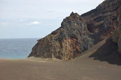 Volcan de Capelinhos Photo stock