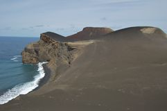 Volcan de Capelinhos Photographie stock libre de droits
