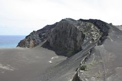 Volcan de Capelinhos Photo stock