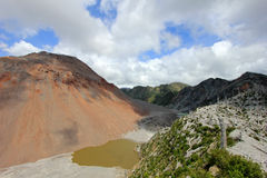 Volcan de Chaiten, Chili Image stock