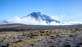 Volcan de Chimborazo Photos libres de droits