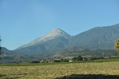 Volcan de Colima - Colima Volcano Stock Image