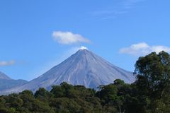 Volcan DE Colima, Mexico royalty-vrije stock foto's