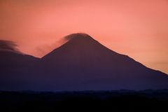 Volcan de Fuego de Colima Royalty Free Stock Photography