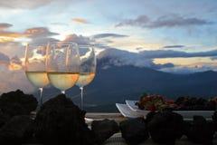 Volcan de Fuego/Guatemala Fotografering för Bildbyråer