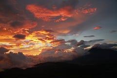Volcan de Fuego/Guatemala Arkivfoto
