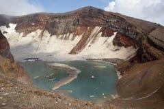 Volcan de Goreliy. Photos stock