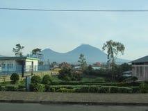 Volcan de Karisimbi Photo libre de droits