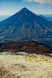 Volcan de Koryak Photos stock