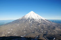 Volcan de Koryaksky Photographie stock libre de droits