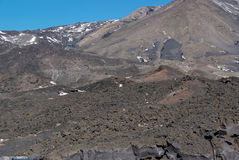 Volcan de l'Etna, Sicile Photo stock
