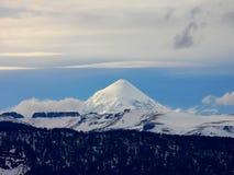 Volcan de Lanin Images libres de droits