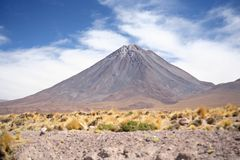 volcan de licancabur Photos stock