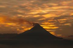 Volcan de Merapi photos stock