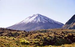 Volcan de Ngauruhoe, Nouvelle Zélande images stock