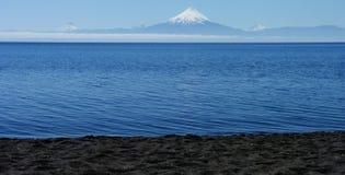 Volcan de Patagonia Photographie stock