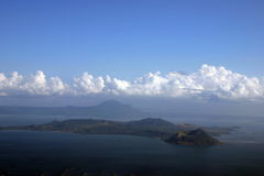 Volcan de Philippines Photos stock
