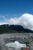 Volcan de Poas images libres de droits