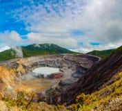 Volcan de Poas, Costa Rica Images libres de droits