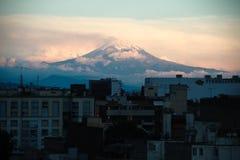 Volcan de Popocatépetl de Mexico photo libre de droits