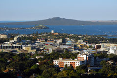 Volcan de Rangitoto Photo stock