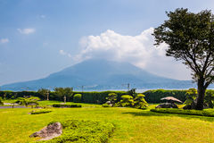 Volcan de Sakurajima photos stock
