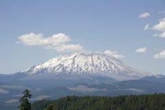 Volcan de St Helens de montagne de forêt Photo stock