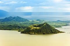 Volcan de Taal Photographie stock