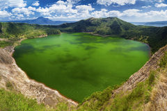 Volcan de Taal, Manille, Philippines Images stock